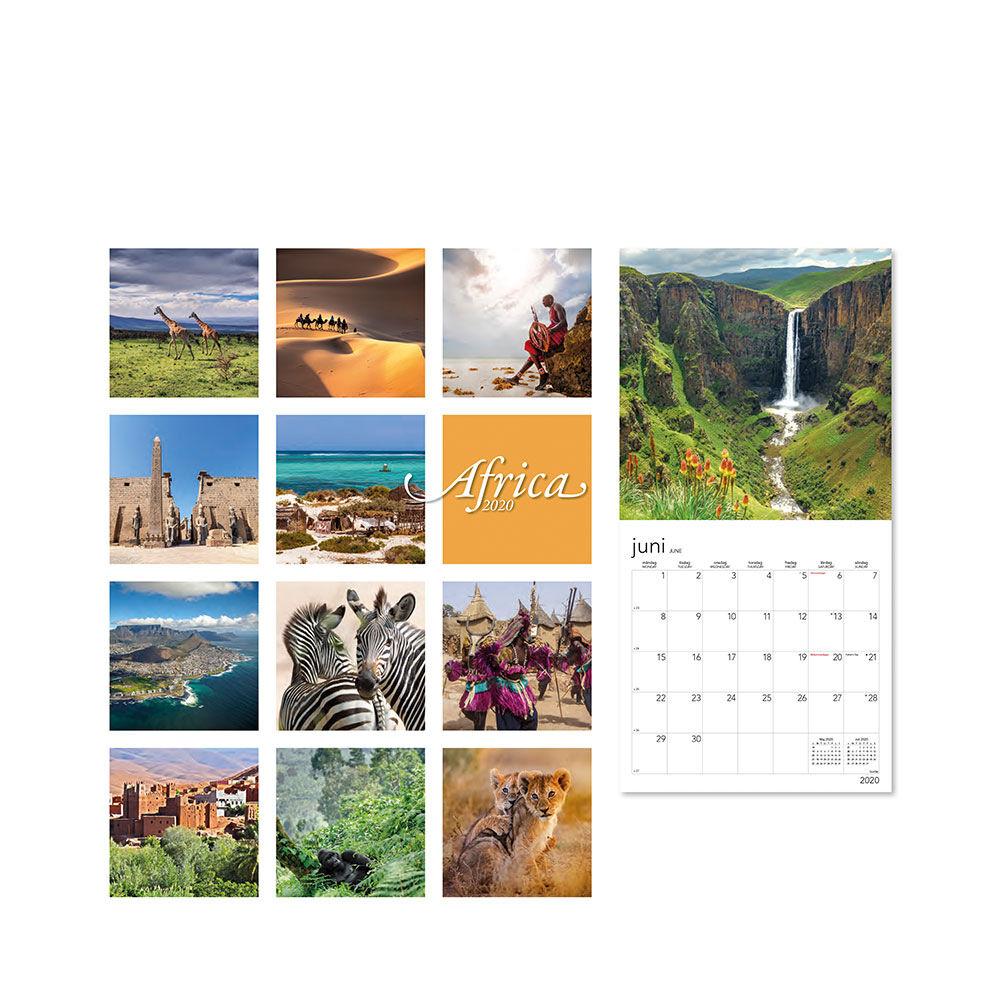 Väggkalender 2020 Africa