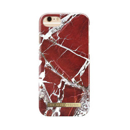 Mobilskal iPhone 6/6S/7/8 Scarlet Red Marble