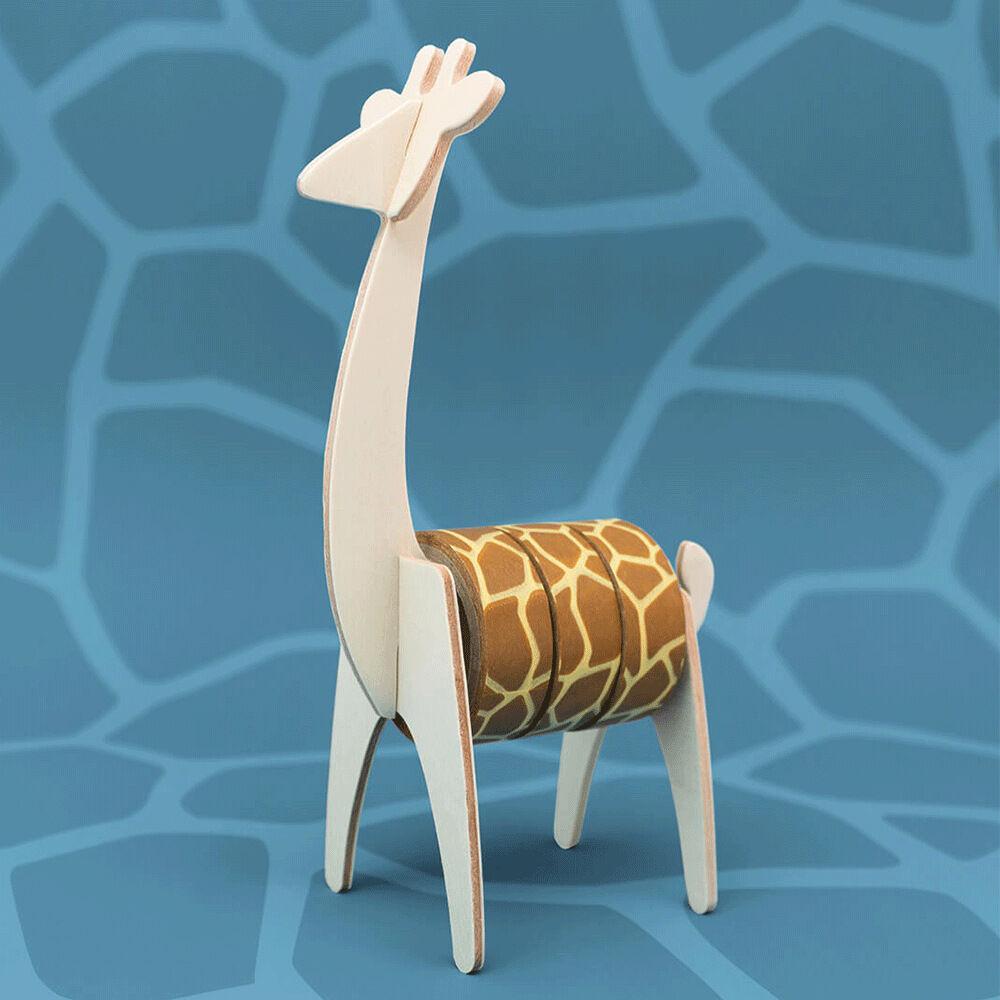 Washitejp med tejphållare Giraff