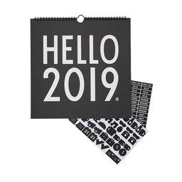 Väggkalender 2019