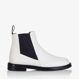 Clivia White Vacchetta Boots