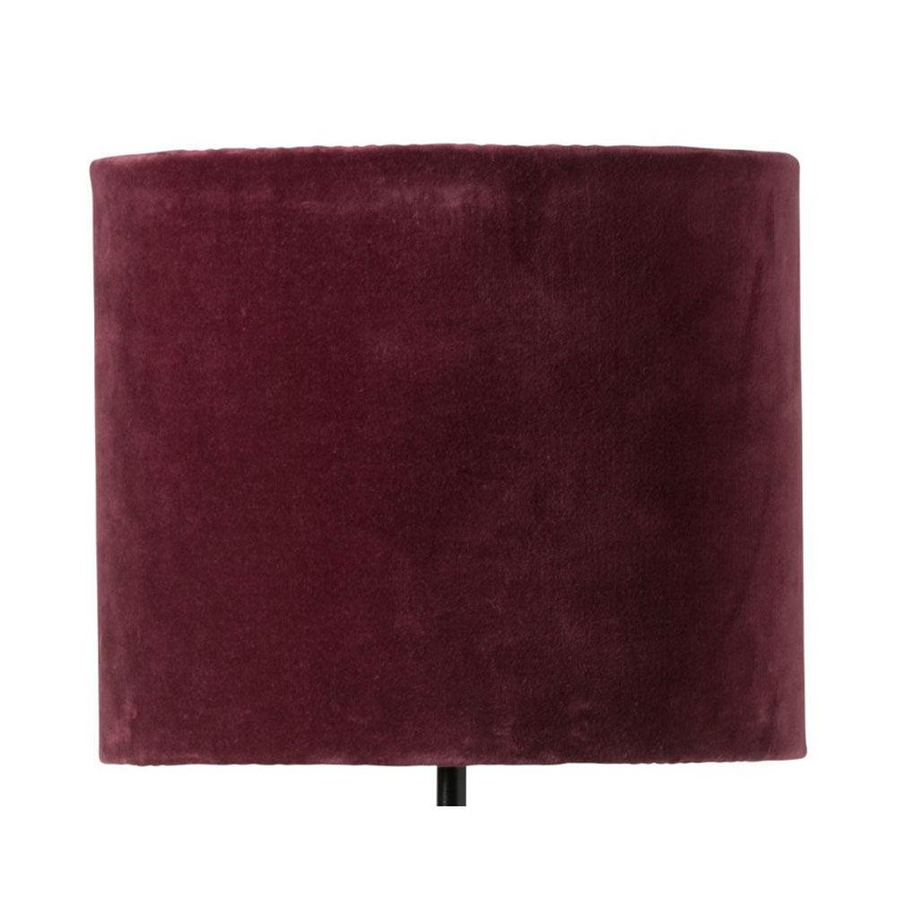 Lampskärm Sanna Ø28 burgundy
