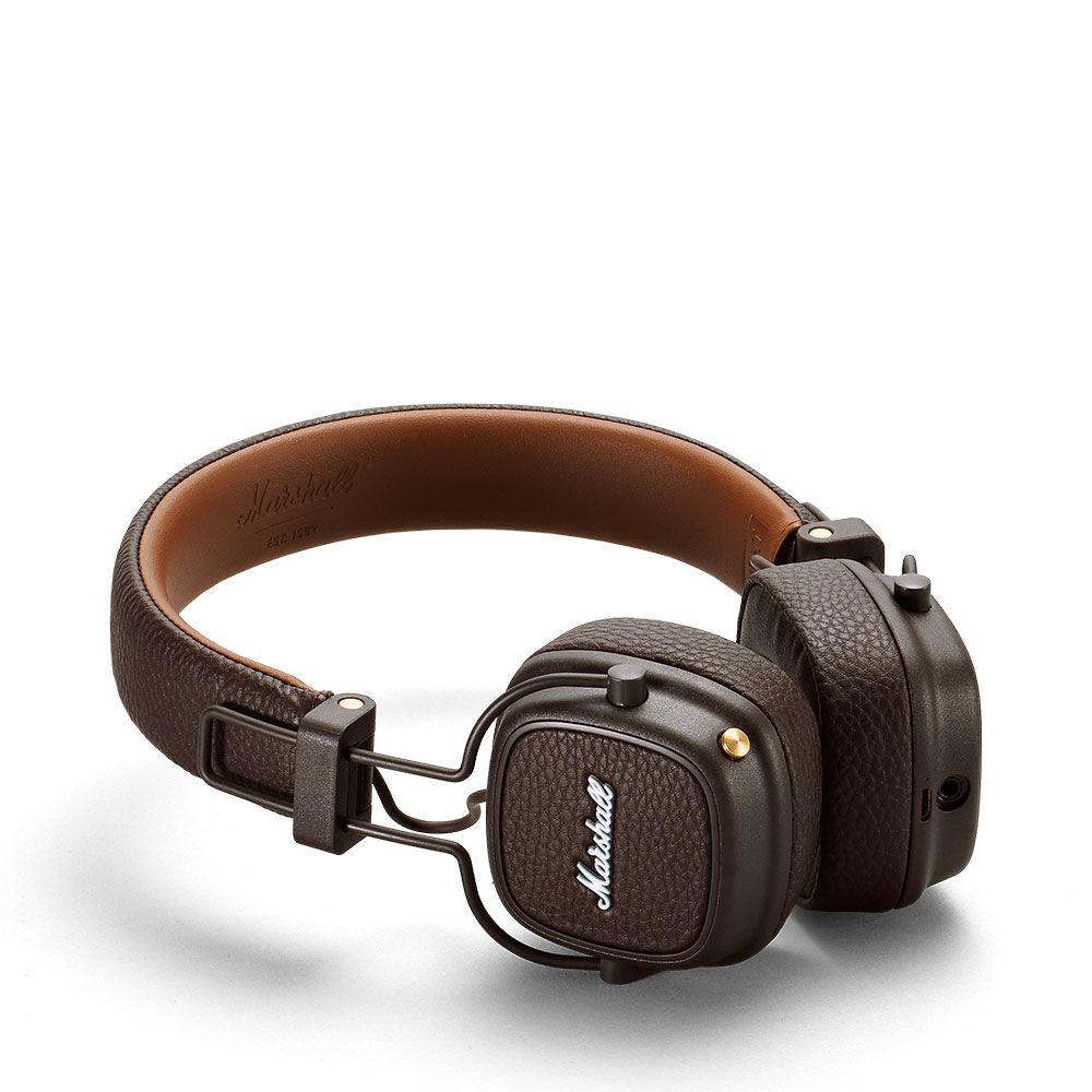 Hörlurar Major III Bluetooth Brown