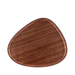 Bricka Viventium valnöt 44×37 cm