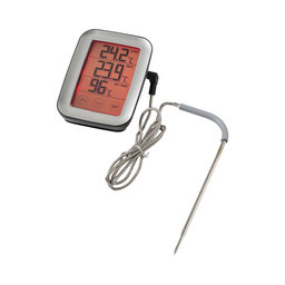 Digital ugnstermometer touch screen