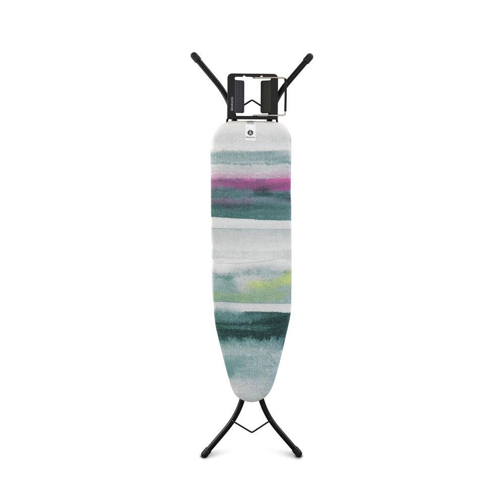Strykbord Storlek A inkl Ångstrykjärnshållare Morning Breeze 110×30 cm