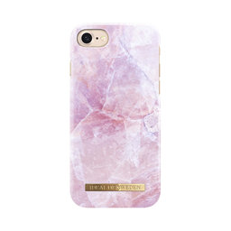Fashion Case Pink Marble iPhone 7