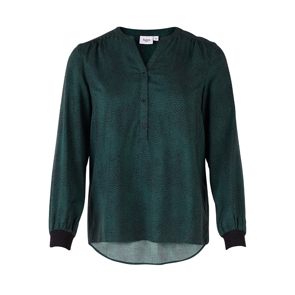 Woven Top Long Sleeves