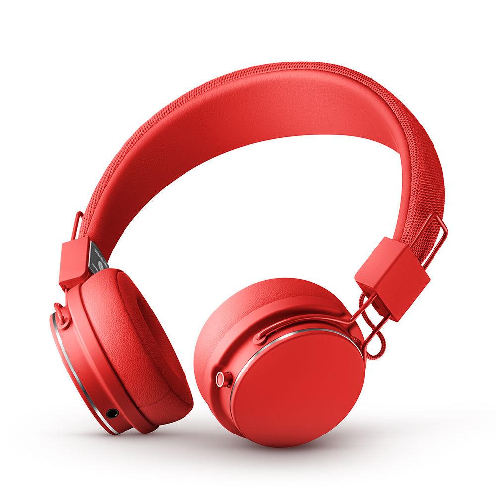 Hörlurar Plattan 2 Bluetooth Tomato