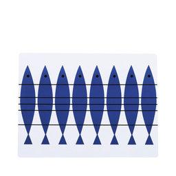 Bordstablett Sill blå