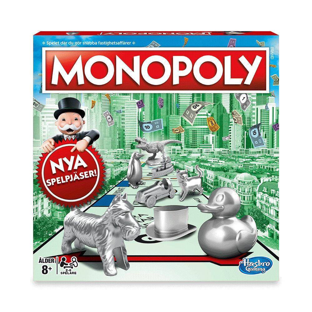 Sällskapsspel Classic Monopoly SE