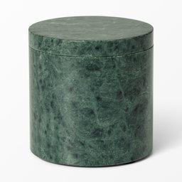 Burk i marmor 10×10 cm