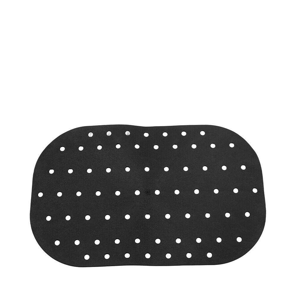 Halkmatta 54×35 cm svart