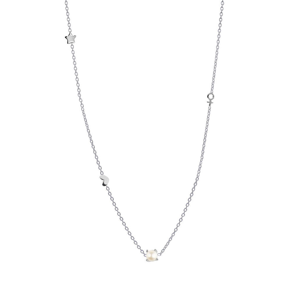 Halsband Silver, Petite Treasure necklace