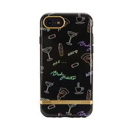 Mobilskal iPhone 6/6S/7/8 Bad Habits gold details