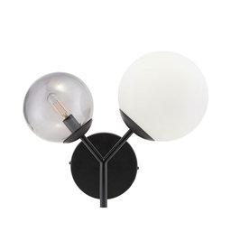 Vägglampa Twice 50 cm Svart