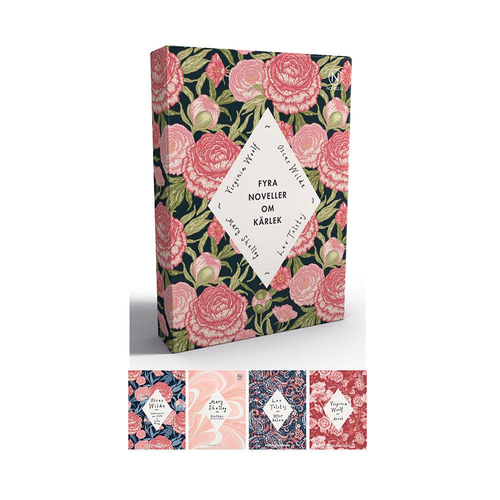 Presentask med fyra noveller om kärlek: Woolf Tolstoj Shelley & Wilde