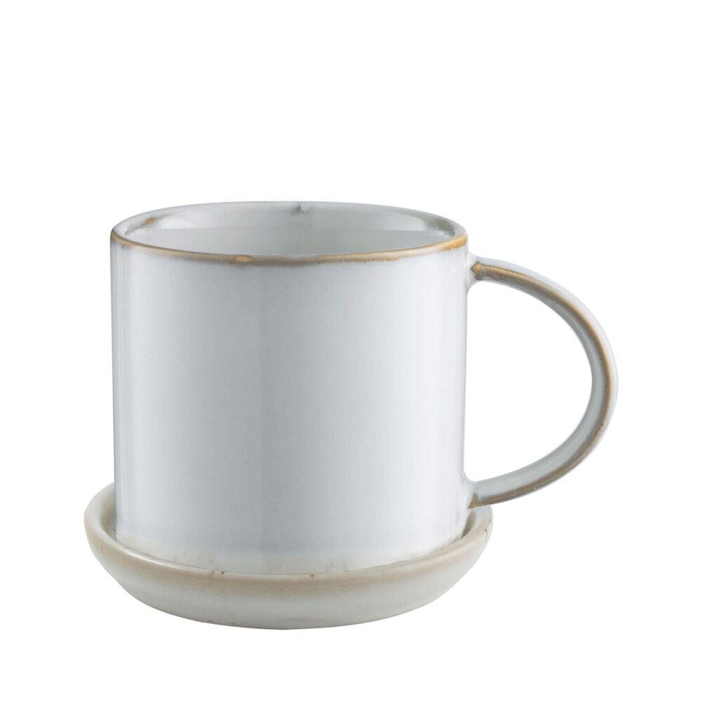Kaffekopp med fat Ø 75 cm