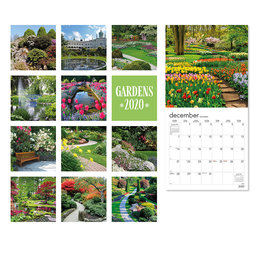 Väggkalender 2020 Gardens