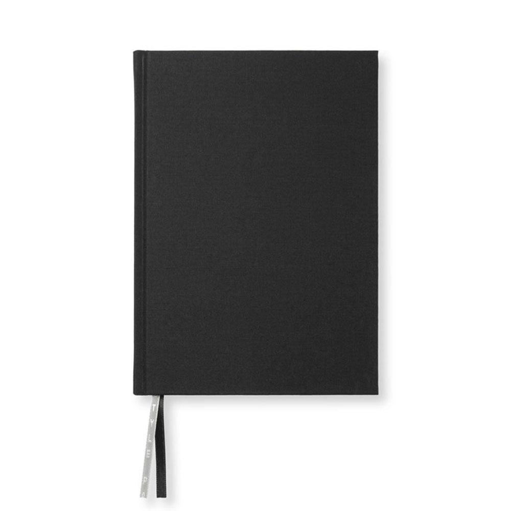 Anteckningsbok A5 128 blanka sidor svart