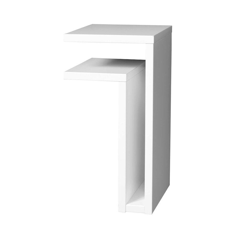 Hylla F-shelf Left White