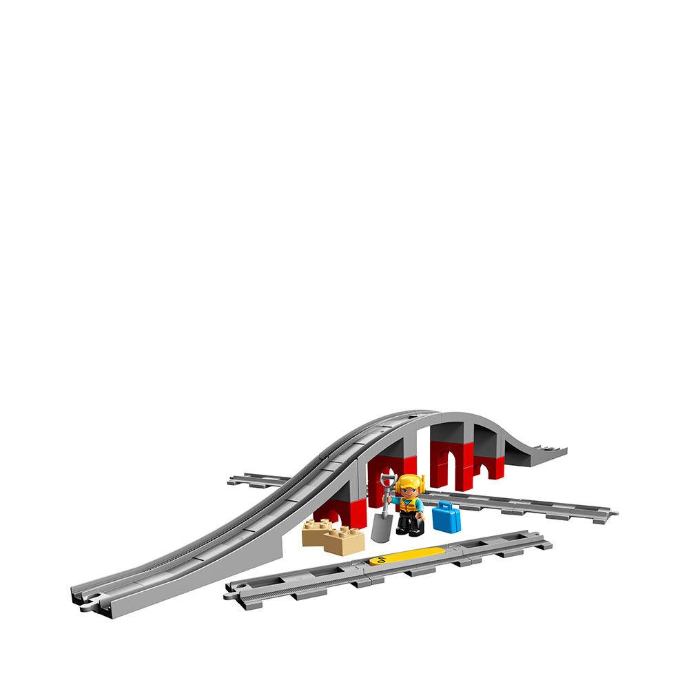 10872 DUPLO® Town Tågbro och spår
