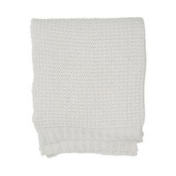 Pläd Knitted Cotton 130×170 cm