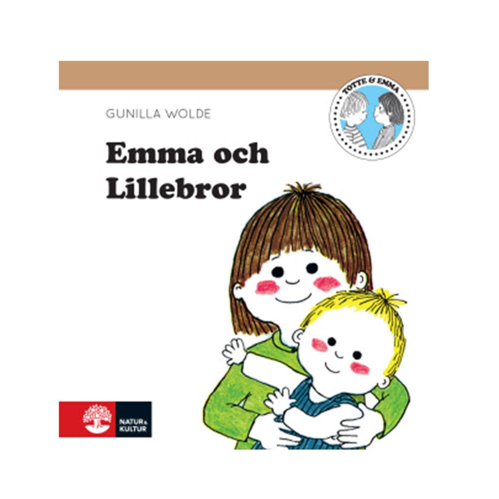 Emma och lillebror Gunilla Wolde