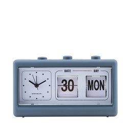 Retro klocka blå