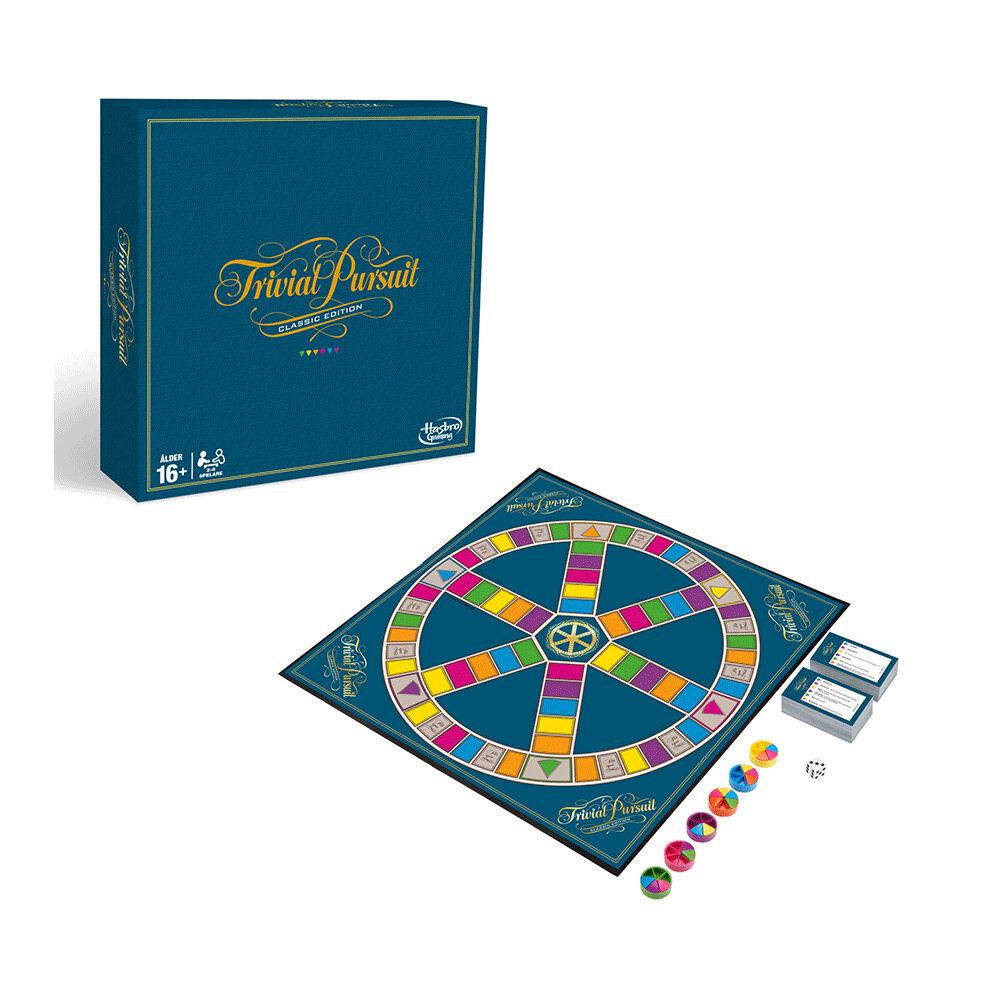 Sällskapsspel Trivial Pursuit Classic Edition