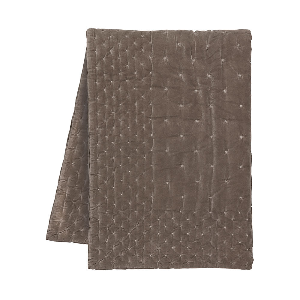 Överkast Paolo 270×260 cm mullvadsbrun