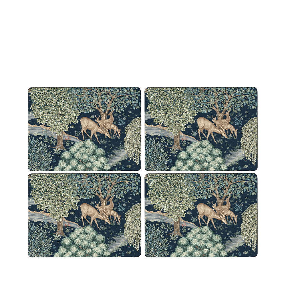 Bordsunderlägg Wightwick x Morris 4-pack