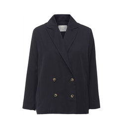Double breasted blazer, navy