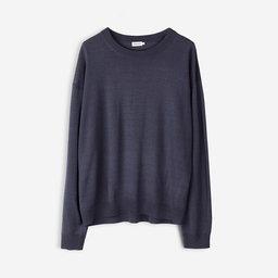 Merino R neck Pullover