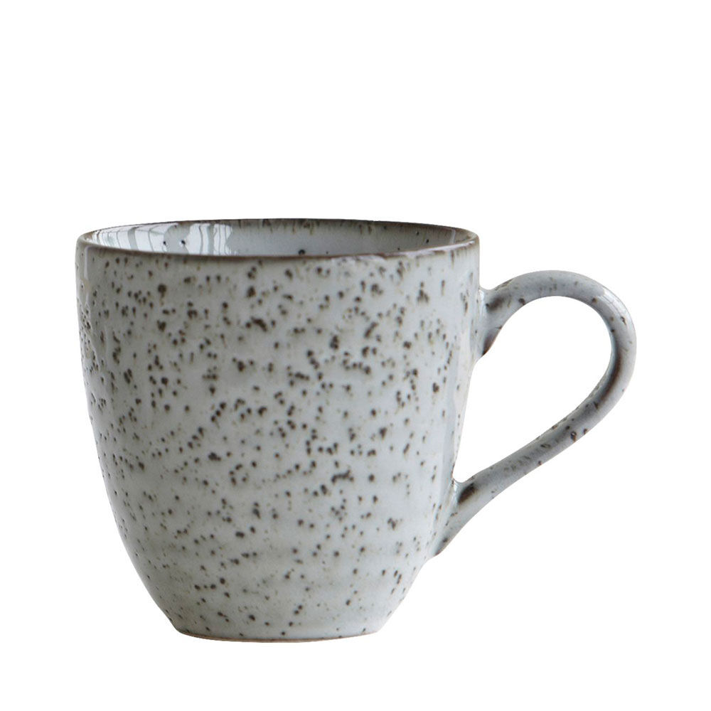 Mugg Rustic 9 cm grå