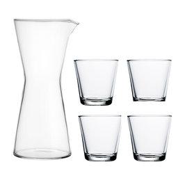 Karaff & 4 glas, Kartio