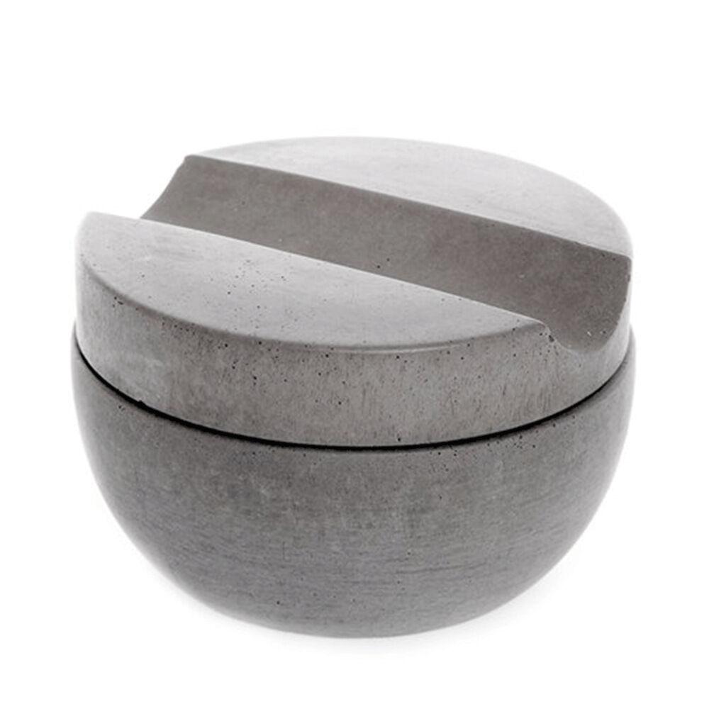 Rakkopp Inklusive Tvål Ø9 cm ljusgrå