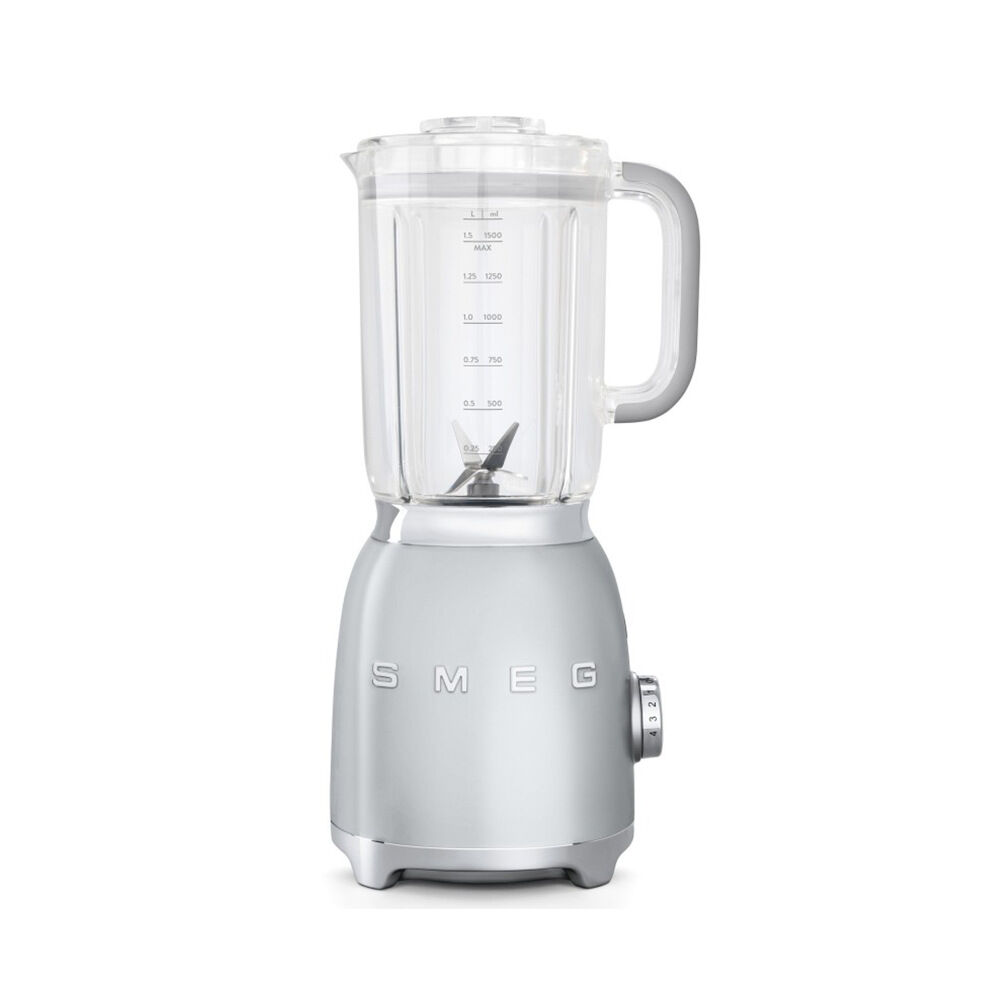 Mixer 50's Retro Style silvergrå