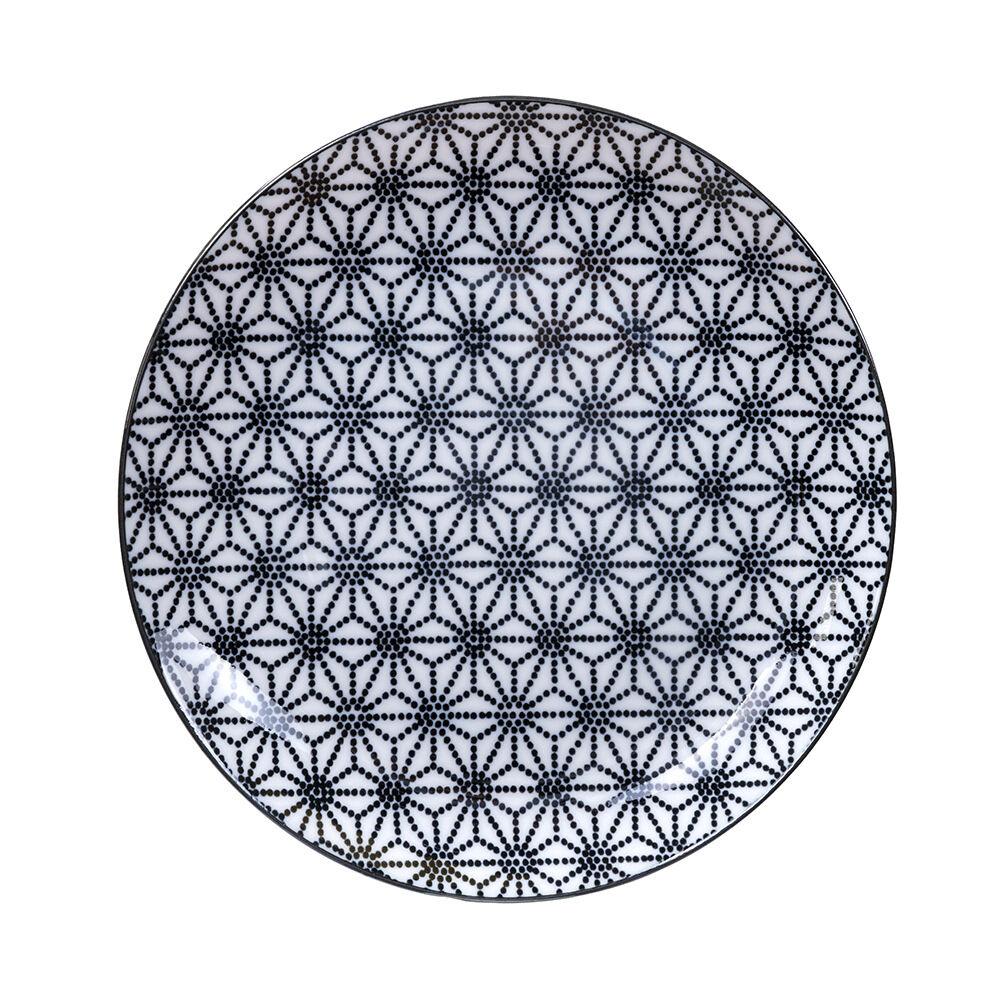 Tallrik Nippon Star Ø206 cm svart