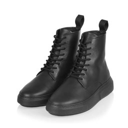 Boots 422g black leather