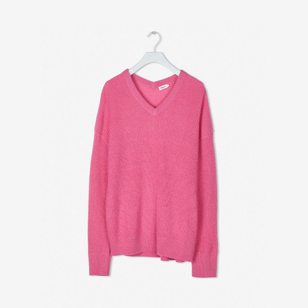 Alpaca V Neck Sweater
