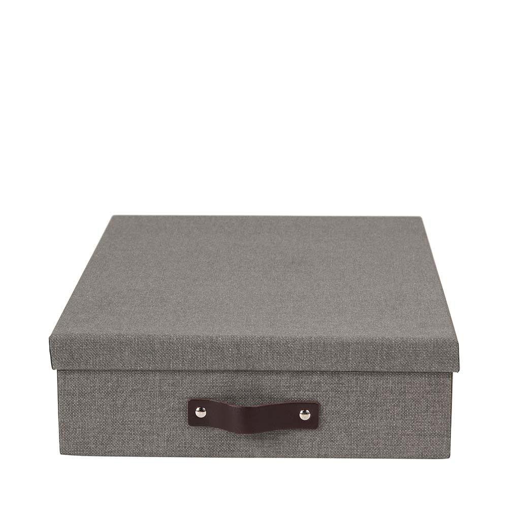 Förvaringsbox A4 Oskar Grey