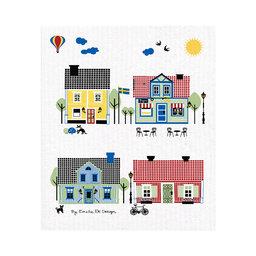 Disktrasa Houses of Sweden 18×20 cm