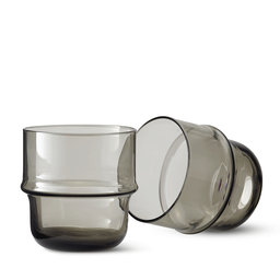Glas Unda Ø8 cm 2-pack