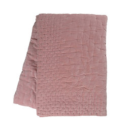 Överkast Paolo 270×260 cm dammig rosa