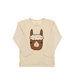 Llama face graphic tee – Tinycottons