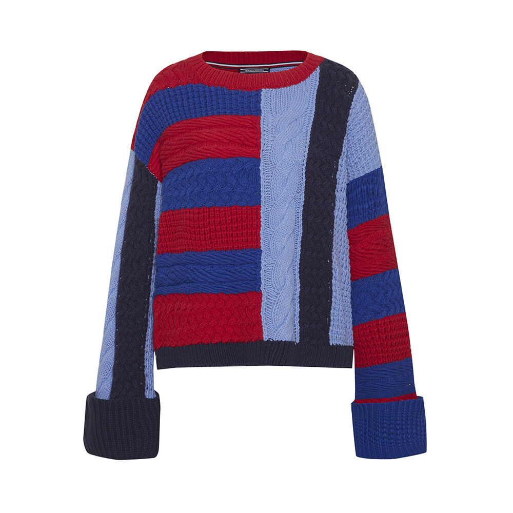 Textured Cable Jumper