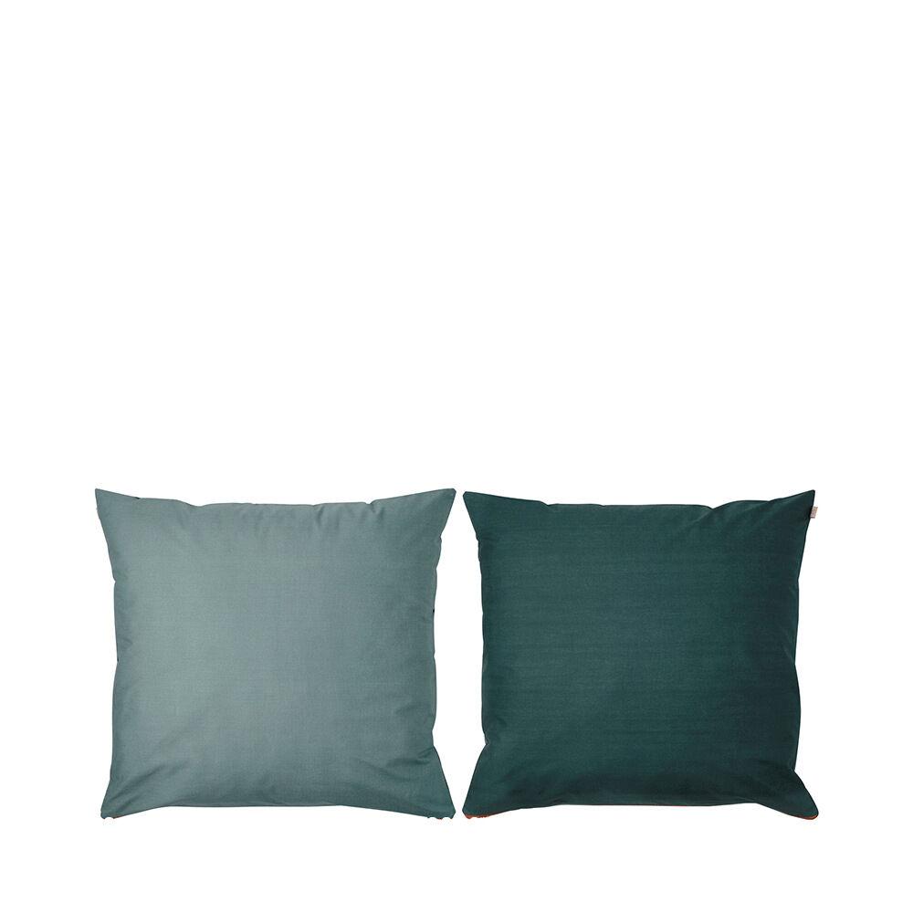 Örngott Shades, 50x60 cm, mörkgrön thumbnail
