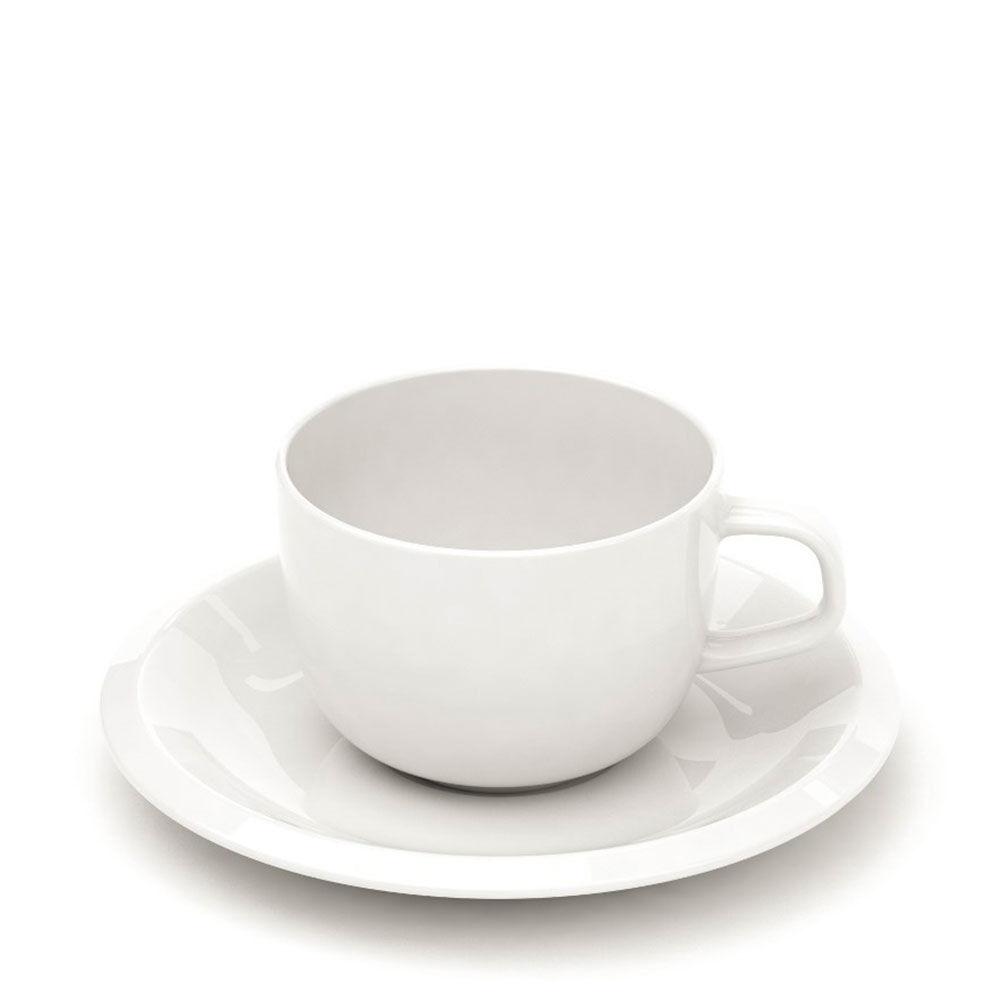 Kaffekopp med fat Raami