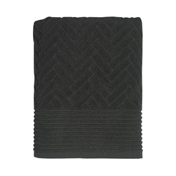 Handduk Brick 70×130 anthracite